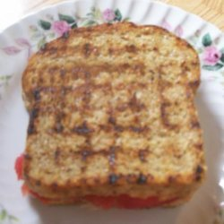 Tomato Sandwich Packets for the Grill recipe