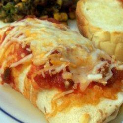 Refried Bean Burritos recipe
