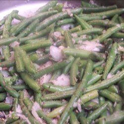 Green Beans with herbs recipe