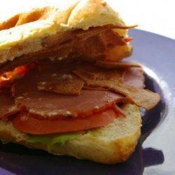 Light Toasty Turkey Club Sandwich recipe