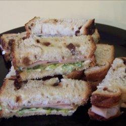 Turkey Tea Sandwiches recipe