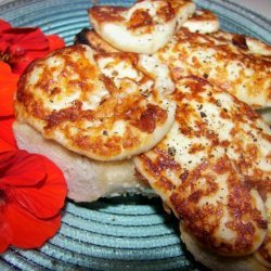 Halloumi Cheese With Lemon and Olive Oil recipe