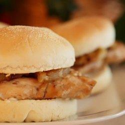 Easy Teriyaki Chicken Burgers recipe