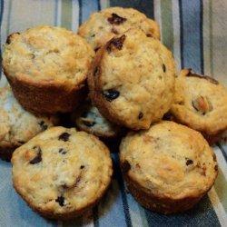 Low Fat Chocolate Banana Muffins recipe