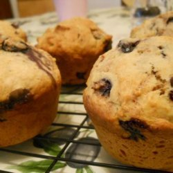 Cooking Light's Blueberry Cinnamon-Burst Muffins recipe