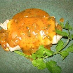 Jalapeno Burritos With Red Chili Gravy recipe