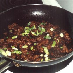Stir Fried Beef With Ginger recipe