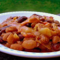 Mom's Baked Beans recipe