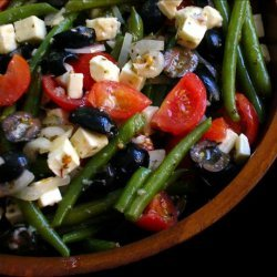 Green Beans With Tomatoes, Olives, and Feta recipe