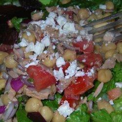 Tuna Garbanzo Bean Salad recipe
