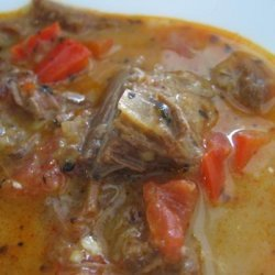 Beef Enchilada Soup recipe