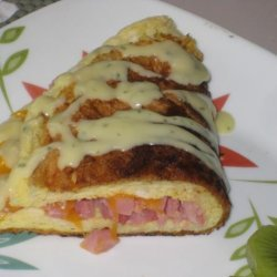 Souffle Omelet (Puffy Omelet) recipe