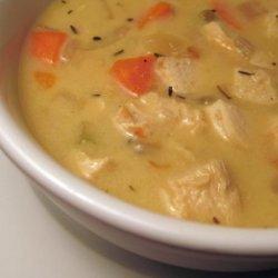 Chicken and Rice Chowder recipe