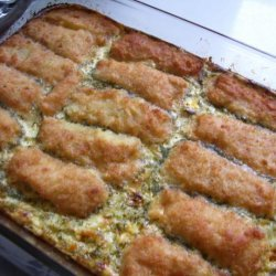Kid's Fish Stick Casserole recipe
