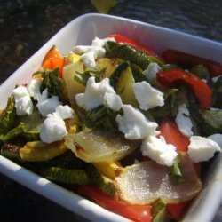 Grilled Vegetable Salad With Goat Cheese recipe
