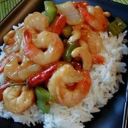 Kung Pao Shrimp with Cashews recipe