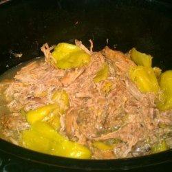 Crock Pot Pepperoncini Beef Roast recipe