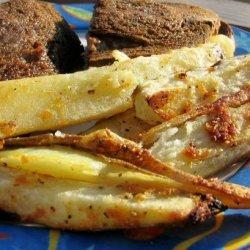 The Realtor's Italian Potato Fries recipe
