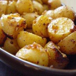 Smoking Ruby Gold Baby Potatoes recipe