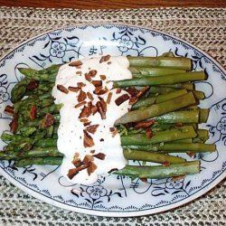 Asparagus With Goat Cheese Sauce recipe