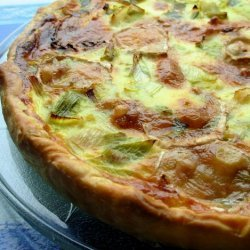 Goat's Cheese, Shallot and Leek Tart - a Bit of a French Tart! recipe