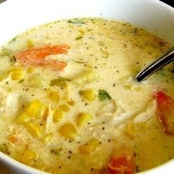 Crab and Corn Bisque recipe