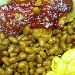 Pork Chop and Bean Bake recipe