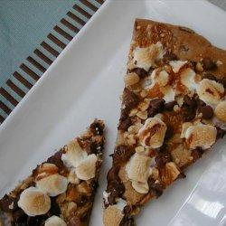 Rocky Road Cookie Pizza recipe