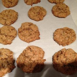 Coconut Toffee Oatmeal Cookies recipe