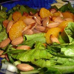 Mandarin Orange Spinach Salad recipe