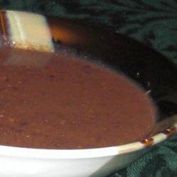 Festive Black Bean Soup in the Crock Pot recipe