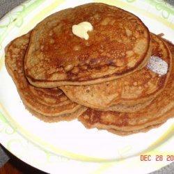 Christmas Gingerbread Pancakes recipe