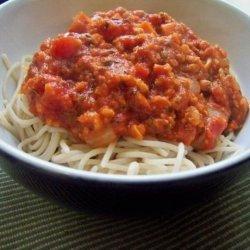 Vegan Bolognese recipe