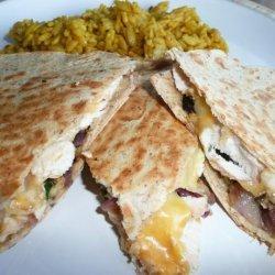 Taco Bell Chicken Quesadillas (Light Version) recipe