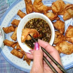Dumplings With Ginger Dipping Sauce recipe