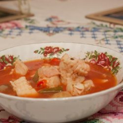 Fish Soup/Stew With Vegetables recipe
