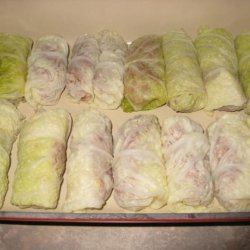 Uncle Bill's Russian Cabbage Rolls recipe
