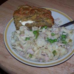 Rustic Round Herb Bread recipe