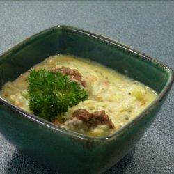 Hearty Garlic Potato Soup recipe