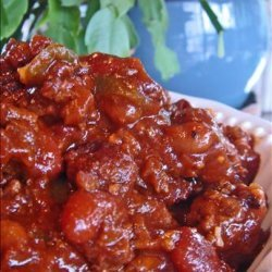 Crock Pot Ground Beef and Beans recipe