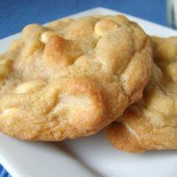 White Chocolate Chip Macadamia Nut Cookies recipe
