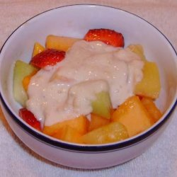 Hawaiian Fruit Salad With Banana Dressing recipe