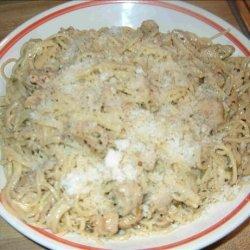 Chicken Scampi With Pasta recipe