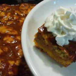 Quick and Easy Pumpkin Pie Bars recipe