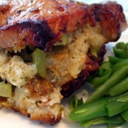 Stuffed Pork Chops - All Saints Episcopal Church - Longmeadow recipe