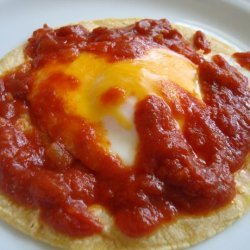 Saucy Mexican Eggs recipe