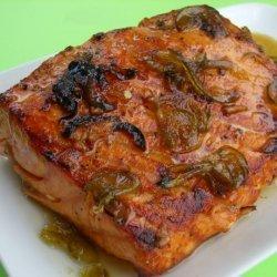 Honey Jalapeno Salmon Fillets recipe