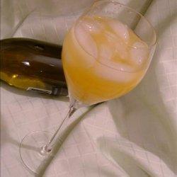 Peach Wine Cooler recipe