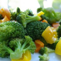 Broccoli and Bell Peppers recipe