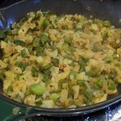 Sauteed Apple, Onion N' Bell Pepper recipe